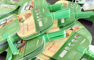 Quạt nhựa quảng cáo tại TPHCM